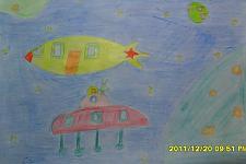 Автор: Калита Алина   Космическая одиссея