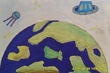 Автор: Девяткина Анастасия   Космическая одиссея