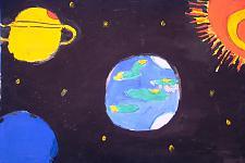 Автор: Погосян Лилит   Космическая одиссея