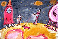 Автор: Кобзева Варвара   Космическая одиссея