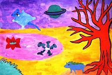Автор: Паракшеева Наташа   Космическая одиссея