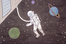 Автор: Зайцева Ирина   Космическая одиссея