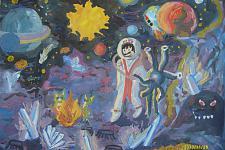 Автор: Пластунова Соня   Космическая одиссея