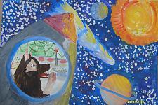 Автор: Козлова Даша   Космическая одиссея