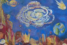 Автор: Штукерт Таня   Космическая одиссея
