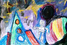 Автор: Довжанская Дана   Космическая одиссея