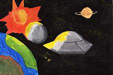 Автор: Курганская Виктория   Космическая одиссея