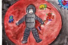 Автор: Яхно Наталья   Космическая одиссея