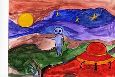 Автор: Кейван Надежда   Космическая одиссея