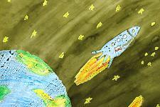 Автор: Варфоломеева Ксения   Космическая одиссея