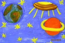 Автор: Морозова Екатерина   Космическая одиссея