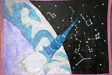 Автор: Султанмуратова Бегимай   Космическая одиссея