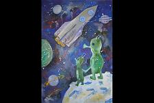 Автор: Гайнуллина Аделя   Космическая одиссея