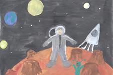 Автор: Дугинова Алёна   Космическая одиссея