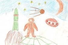 Автор: Науменко Евгения   Космическая одиссея