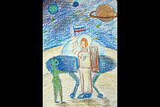 Автор: Кчерова Ксения   Космическая одиссея
