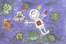 Автор: Тимофеева Дарья   Космическая одиссея