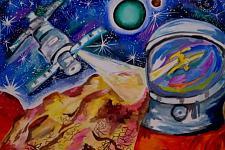 Автор: Анастасия  Ефремова   Космическая одиссея