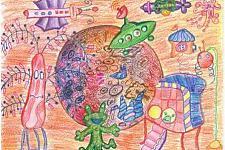 Автор: Вачаева Настя   Космическая одиссея