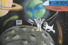 Автор: Мурадян София   Космическая одиссея