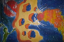 Автор: Сидорова Елизавета   Космическая одиссея