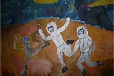 Автор: Серобян Мари   Космическая одиссея