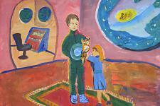 Автор: Калиниченко Мария   Космическая одиссея