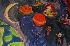 Автор: Майя Сассон   Космическая одиссея