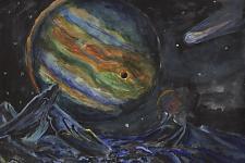 Автор: Вострякова Алёна   Космическая одиссея