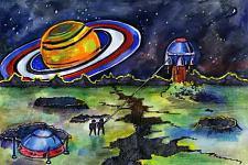 Автор: Деппарова Лилия   Космическая одиссея