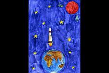 Автор: Уллина Эльмира   Космическая одиссея