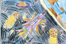 Автор: Яруллина Аделя   Космическая одиссея