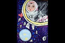 Автор: Антонова Ирина   Космическая одиссея