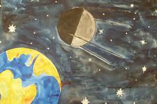 Автор: Кубышева Асель   Космическая одиссея