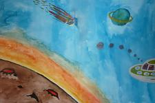 Автор: Азанбаева Гульназира   Космическая одиссея
