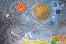 Автор: Насибуллин Радмир   Космическая одиссея