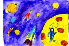 Автор: Бышева Арина   Космическая одиссея
