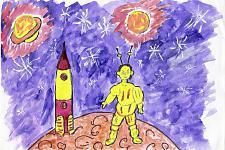 Автор: Бикмухаметов Искандер   Космическая одиссея