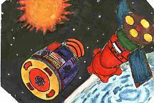 Автор: Шабанова Любовь   Космическая одиссея