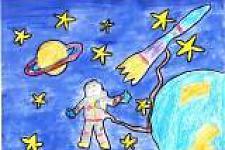 Автор: Антонова Карина   Космическая одиссея