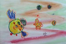 Автор: Смирнова Катя   Космическая одиссея