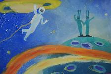 Автор: Пикалова Лиза   Космическая одиссея