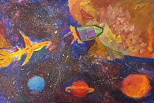 Автор: Щепачев Никита   Космическая одиссея