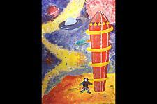 Автор: Собка Катя   Космическая одиссея