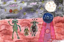 Автор: Сафарньязова Регина   Космическая одиссея