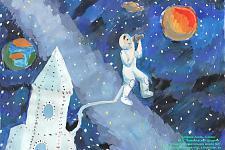 Автор: Калуова Асель   Космическая одиссея