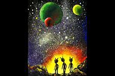 Автор: Осипова Оля   Космическая одиссея