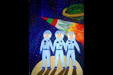 Автор: Сапожникова Карина   Космическая одиссея