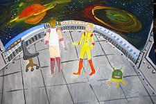 Автор: Ананьева Виктория   Космическая одиссея