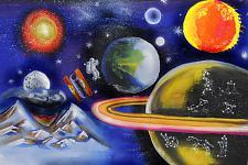 Автор: Оразова Дана   Космическая одиссея